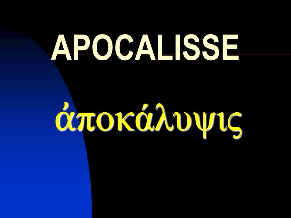 Parte III I parte: le lettere alle sette chiese II parte: Dio padre e lagnello, il libro della storia e il sette sigilli III parte: il demoniaco sconfitto e la nuova Gerusalemme