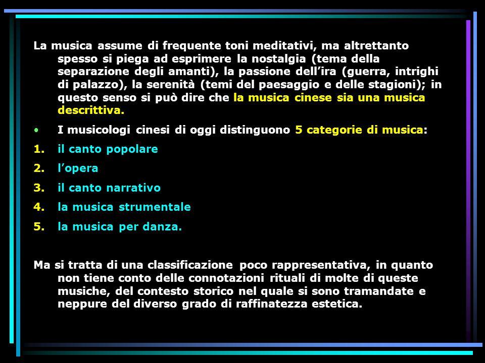 La musica assume di frequente toni meditativi, ma altrettanto spesso si piega ad esprimere la nostalgia (tema della separazione degli amanti), la pass