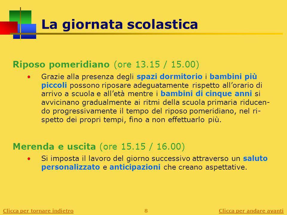 Clicca per andare avanti Lofferta formativa Lofferta formativa si traduce in attività riferite a 4 grandi aree.
