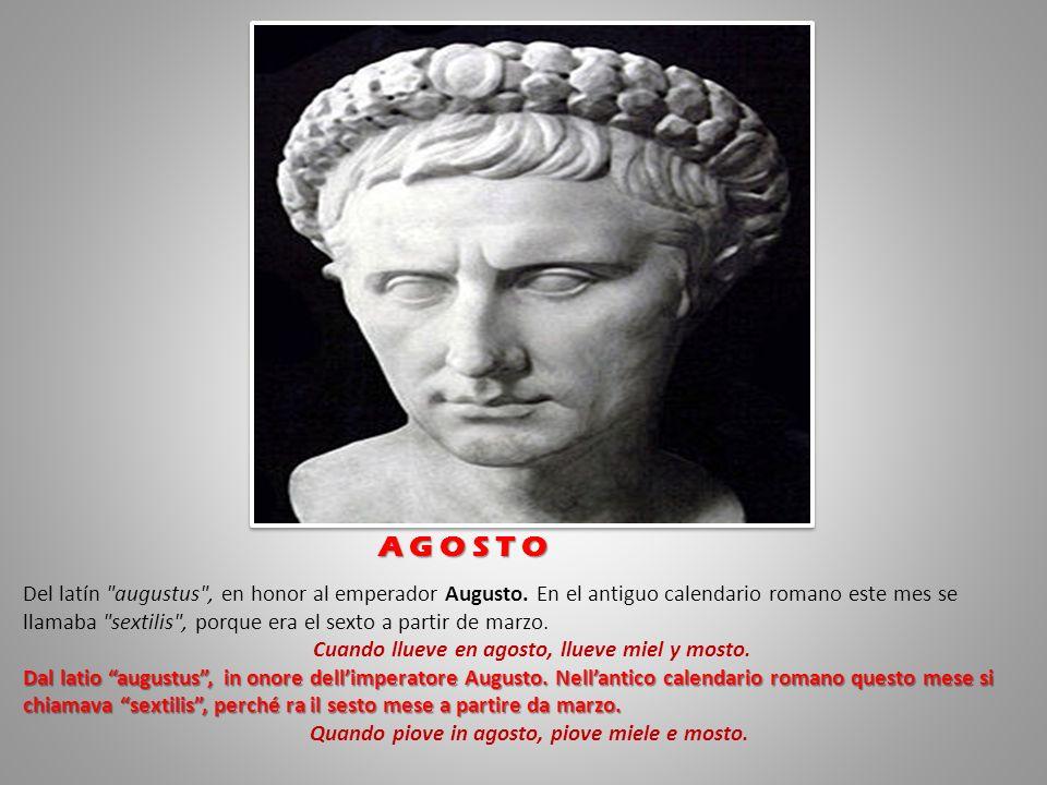 Viene de iulius , en honor a Julio César.