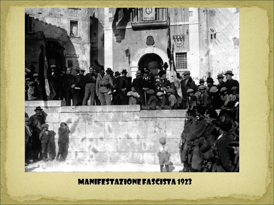 Manifestazione fascista 1923