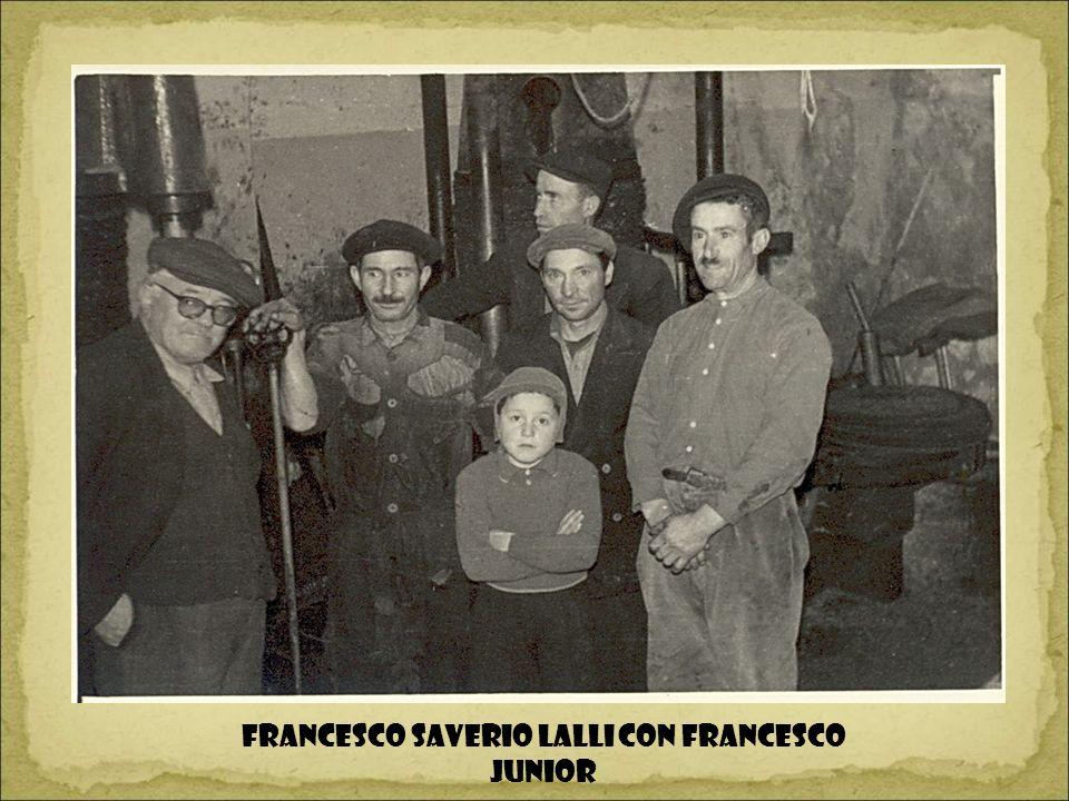 Francesco Saverio Lalli con Francesco junior