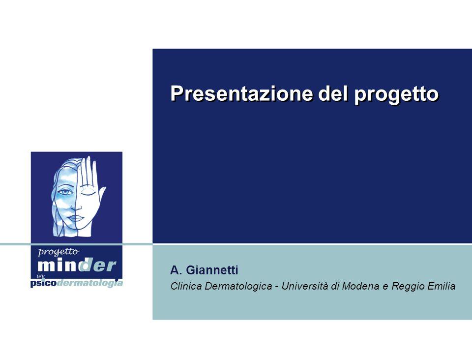 Presentazione del progetto A.