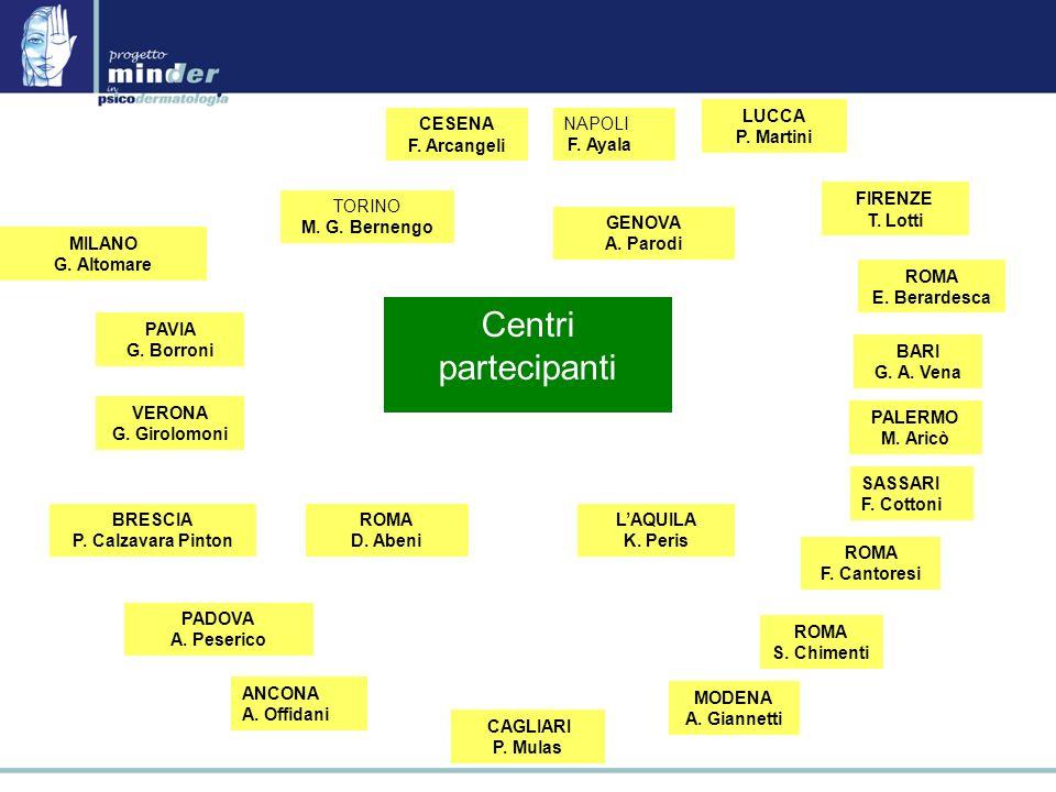 MILANO G.Altomare ROMA E. Berardesca TORINO M. G.