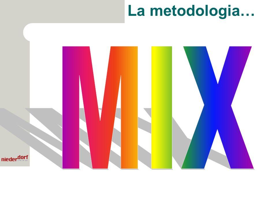La metodologia…