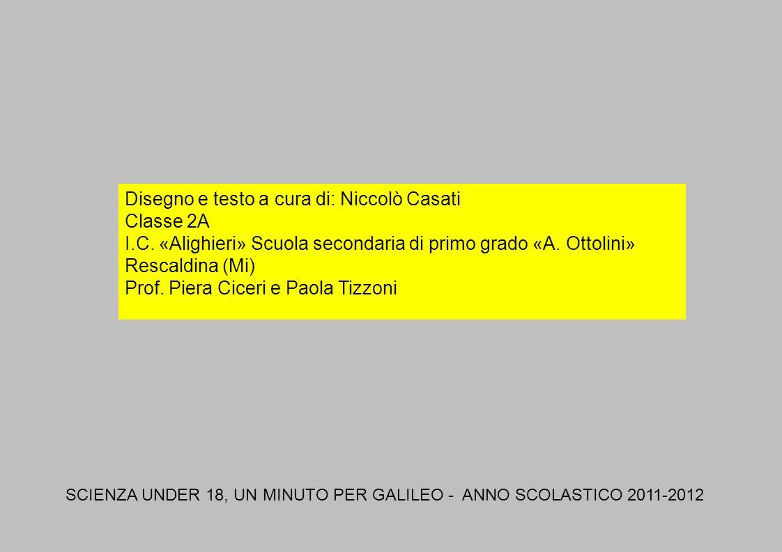 Disegno e testo a cura di: Niccolò Casati Classe 2A I.C. «Alighieri» Scuola secondaria di primo grado «A. Ottolini» Rescaldina (Mi) Prof. Piera Ciceri