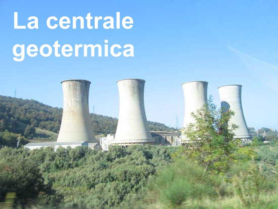 Schema di una centrale geotermica Le centrali geotermiche sfruttano il calore delle profondità terrestri.