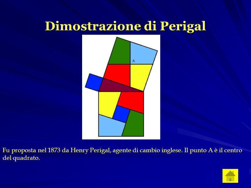 Dimostrazione di Perigal Fu proposta nel 1873 da Henry Perigal, agente di cambio inglese.