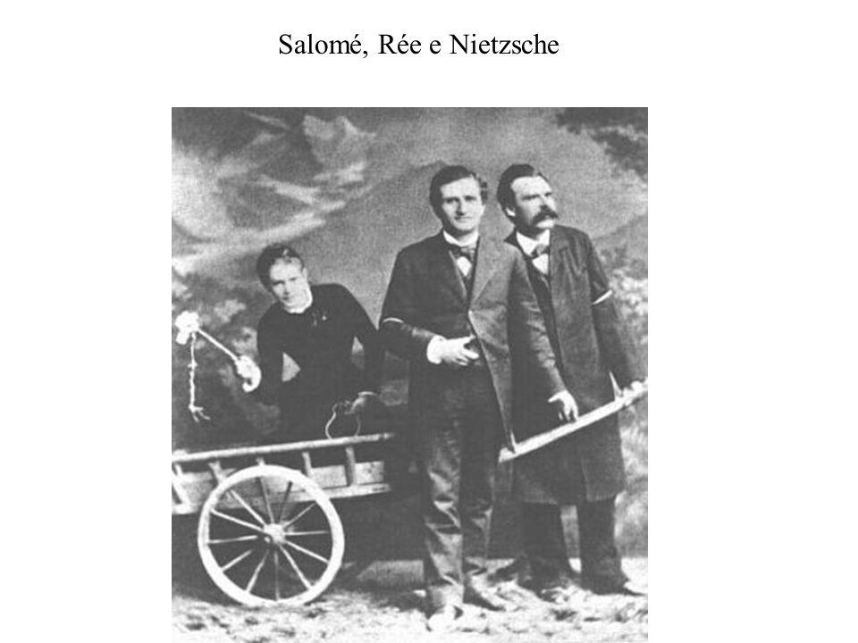 Salomé, Rée e Nietzsche