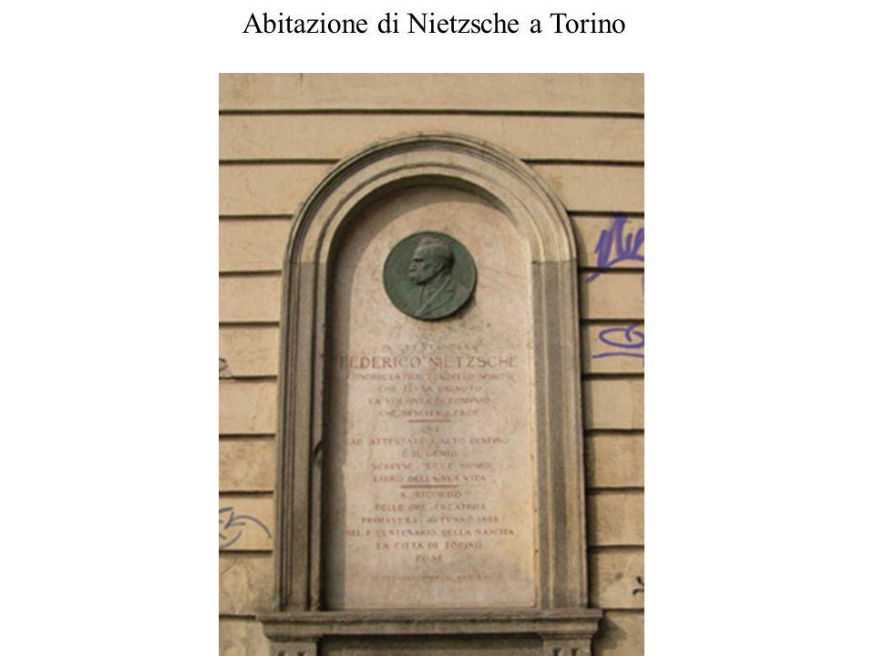 Abitazione di Nietzsche a Torino