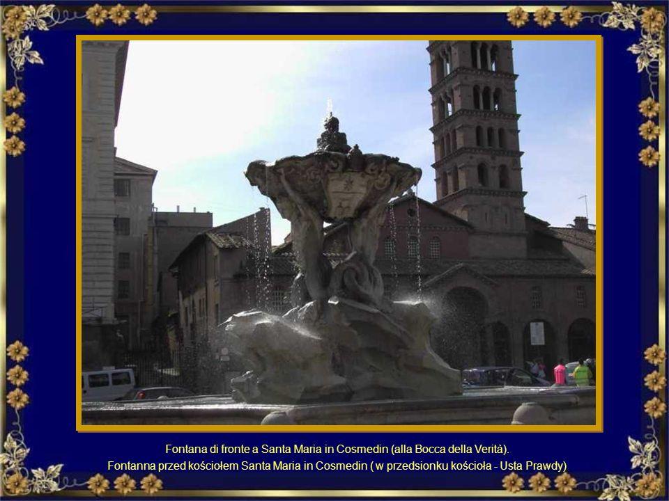 La Fontana del Tritone a Piazza Barberini Fontanna Trytona na Piazza Barberini
