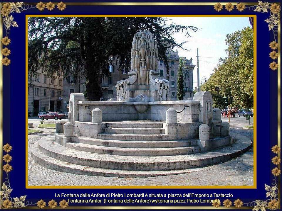 La fontana dell'Acqua Acetosa. Fontanna Acqua Acetosa