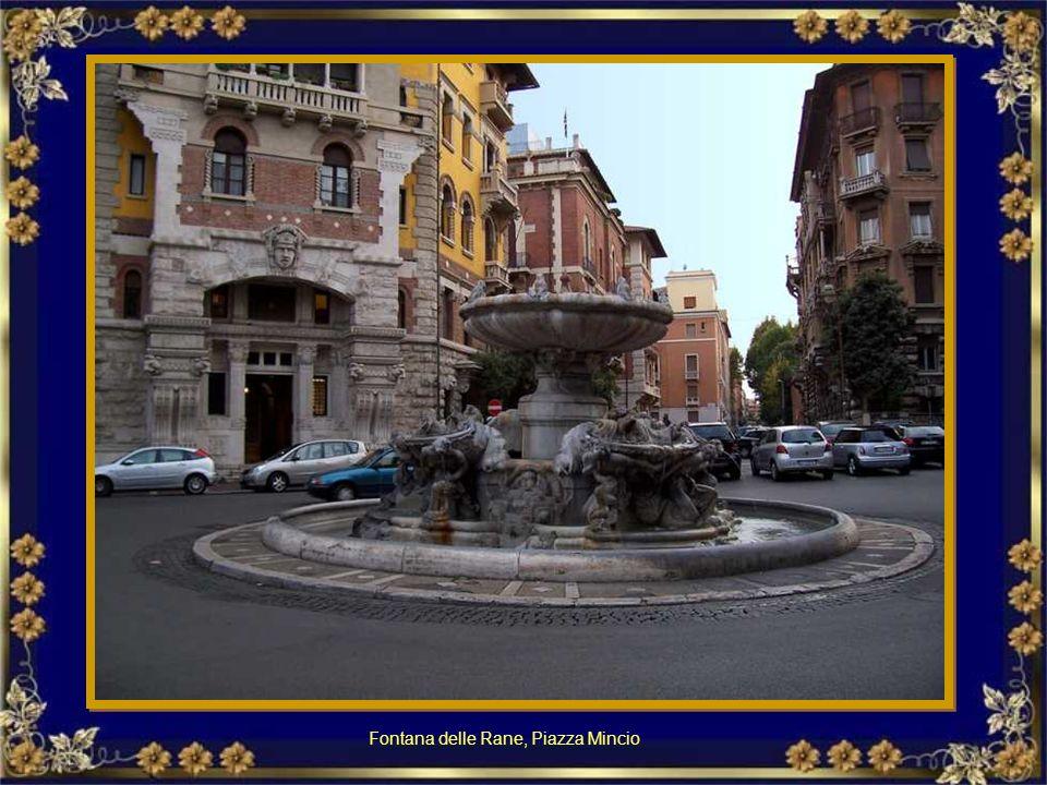 Nel Piazzale Ostiense davanti alla sede dell'Acea si può ammirare, inserita in un ampio spazio verde, una moderna fontana, realizzata nel 1962 su dise