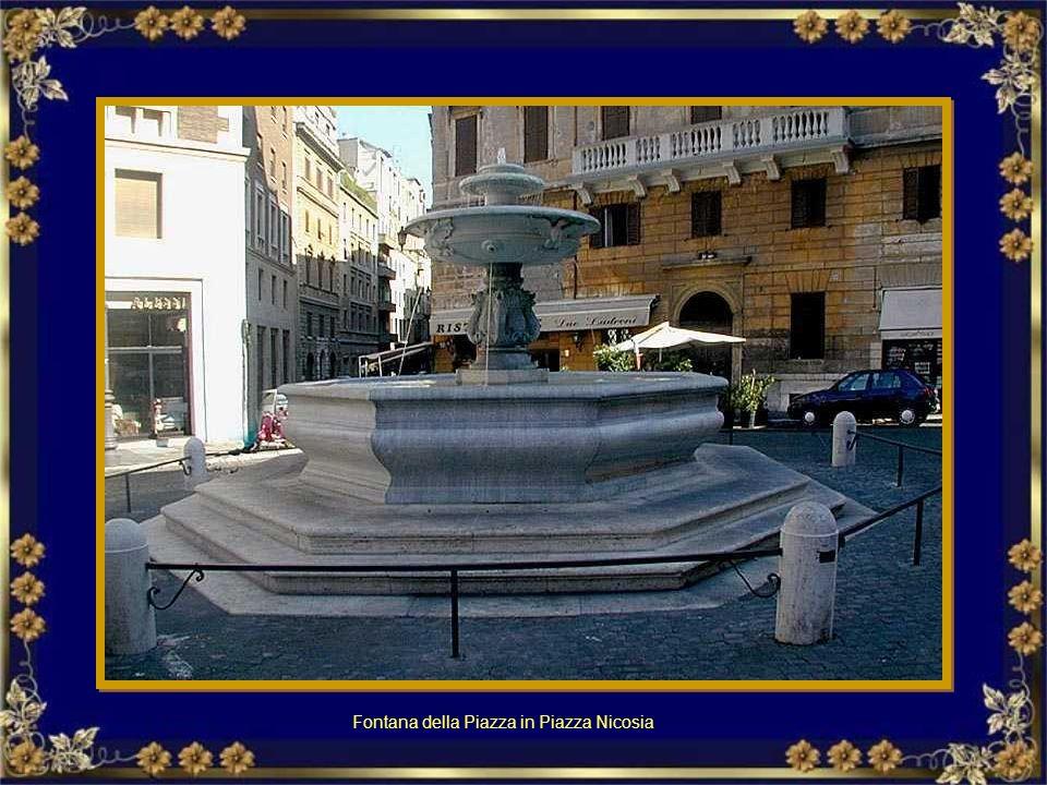 Fontana della Botte in via della Cisterna – Trastevere Fontana della Botte Via della Cisterna.