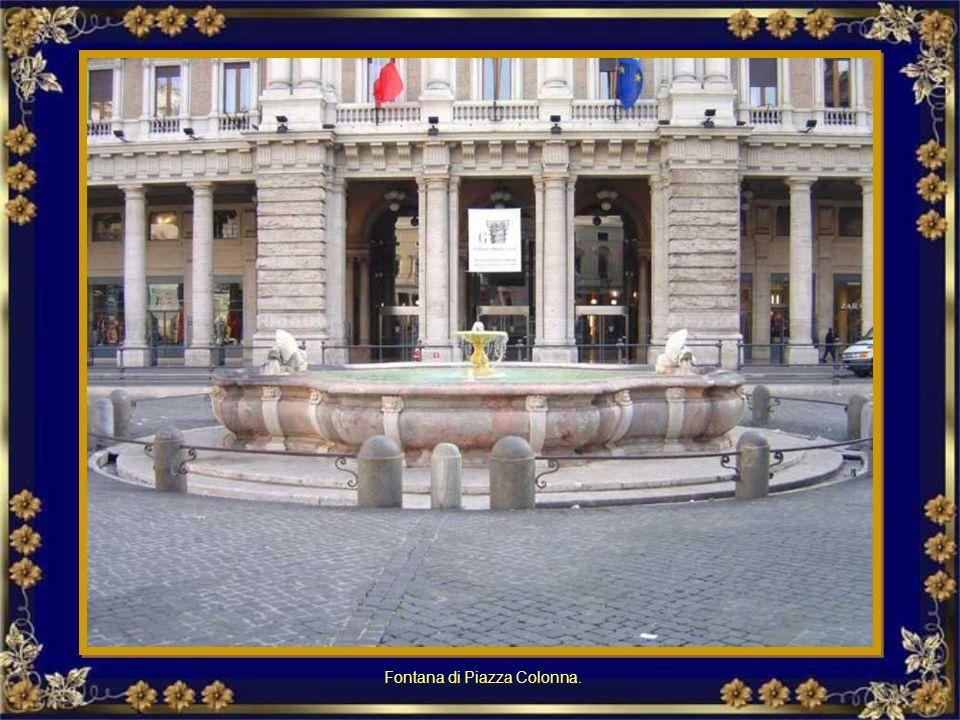 Palazzo di Giustizia: Fontana Fontanna przed Palazzo di Giustizia (Pałac Sprawiedliwości)