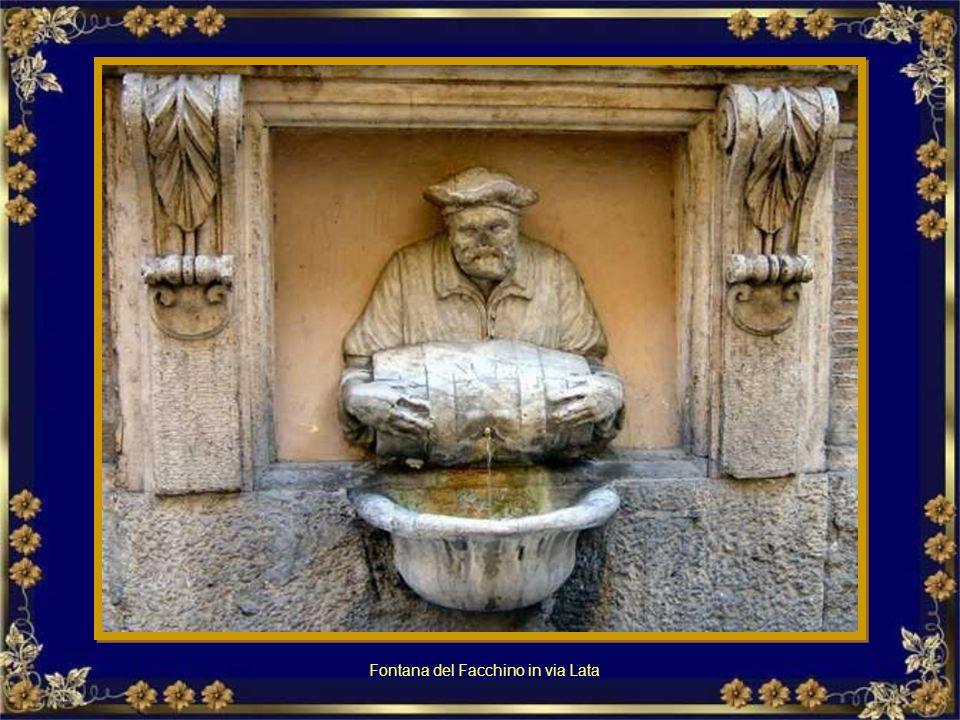 Fontana di Piazza Colonna.