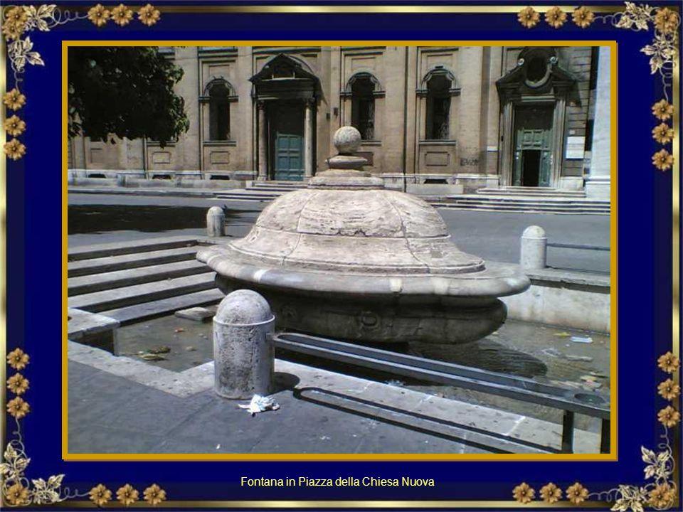 Fontana del Mascherone in via Giulia