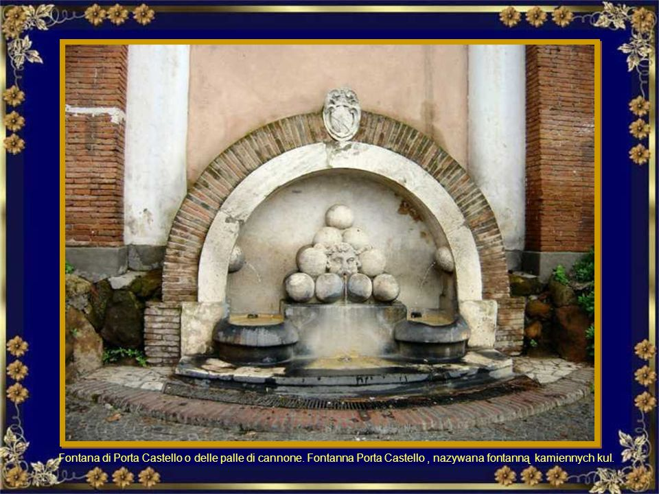 Fontana in Piazza della Chiesa Nuova