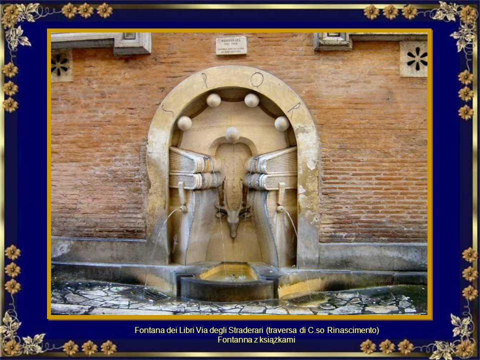 Fontana di Porta Castello o delle palle di cannone. Fontanna Porta Castello, nazywana fontanną kamiennych kul.