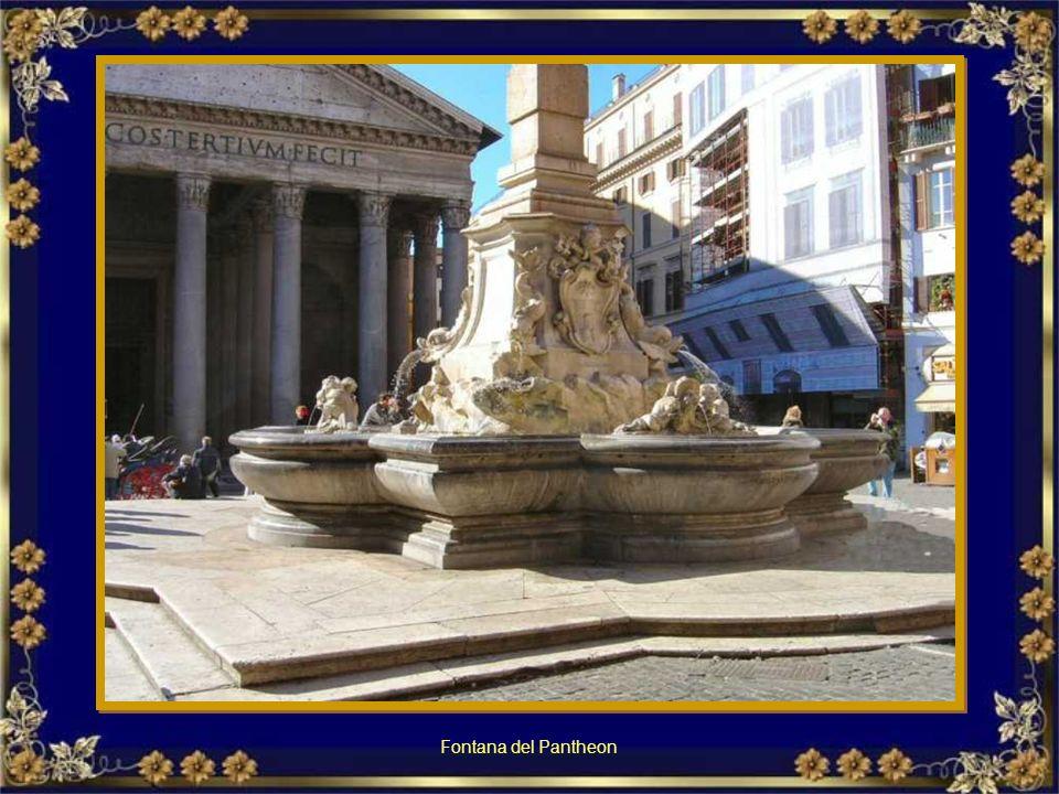 Fontana dei Libri Via degli Straderari (traversa di C.so Rinascimento) Fontanna z książkami