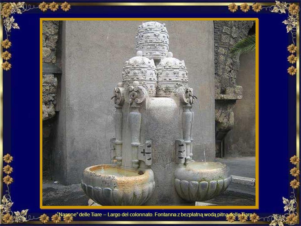 Villa Sciarra: mattino. Fontanone Villa Sciarra: rano – fontanna