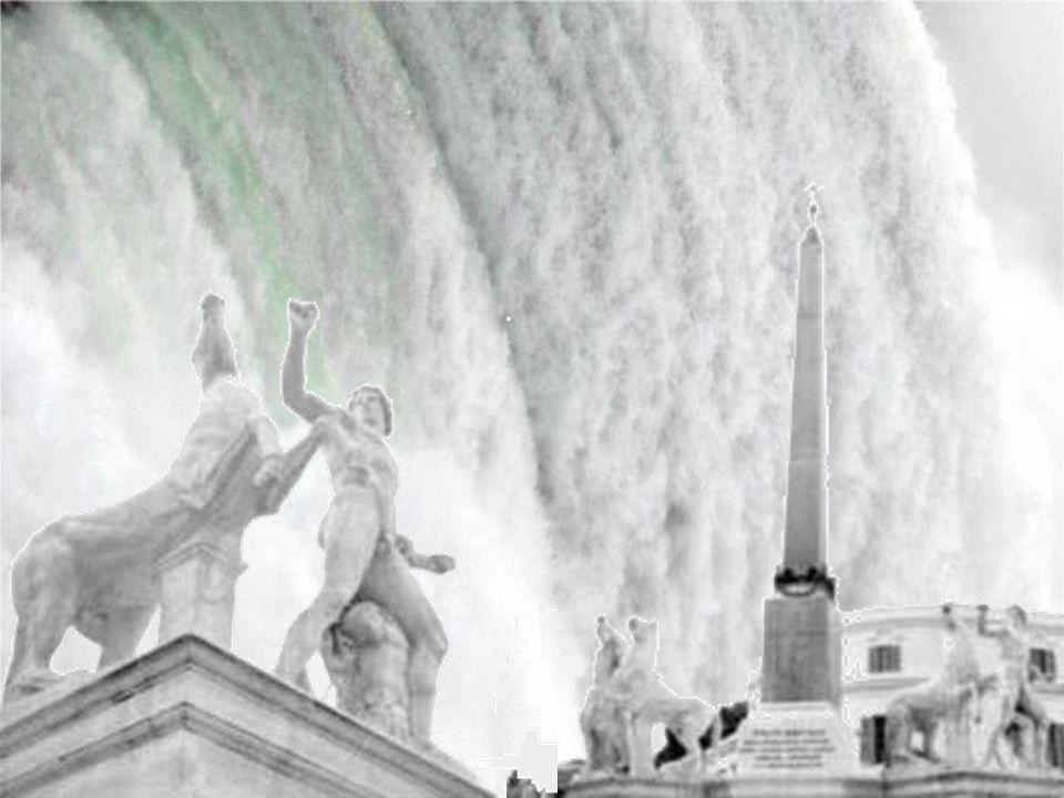 Nasone del Vaticano, via della Cociliazione.Fontanna z bezpłatną wodą pitną del Vaticano via della Cociliazione