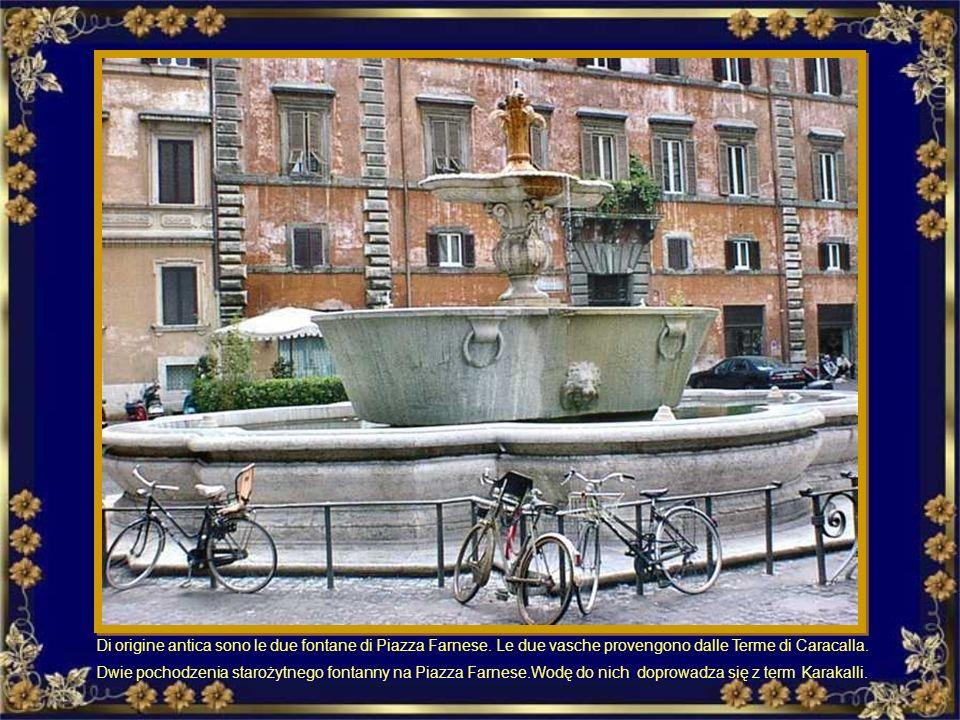 La fontana del Mosè o Fontana dell'Acqua Felice, situata in Piazza San Bernardo Fontanna Mojżesza, lub Fontanna Acqua Felice, znajduje się na Piazza S