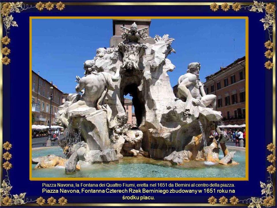 Fontanone del Gianicolo. Terminale dell acquedotto di Traiano. Fontanna Gianicolo. Na końcu akweduktu Trajana.