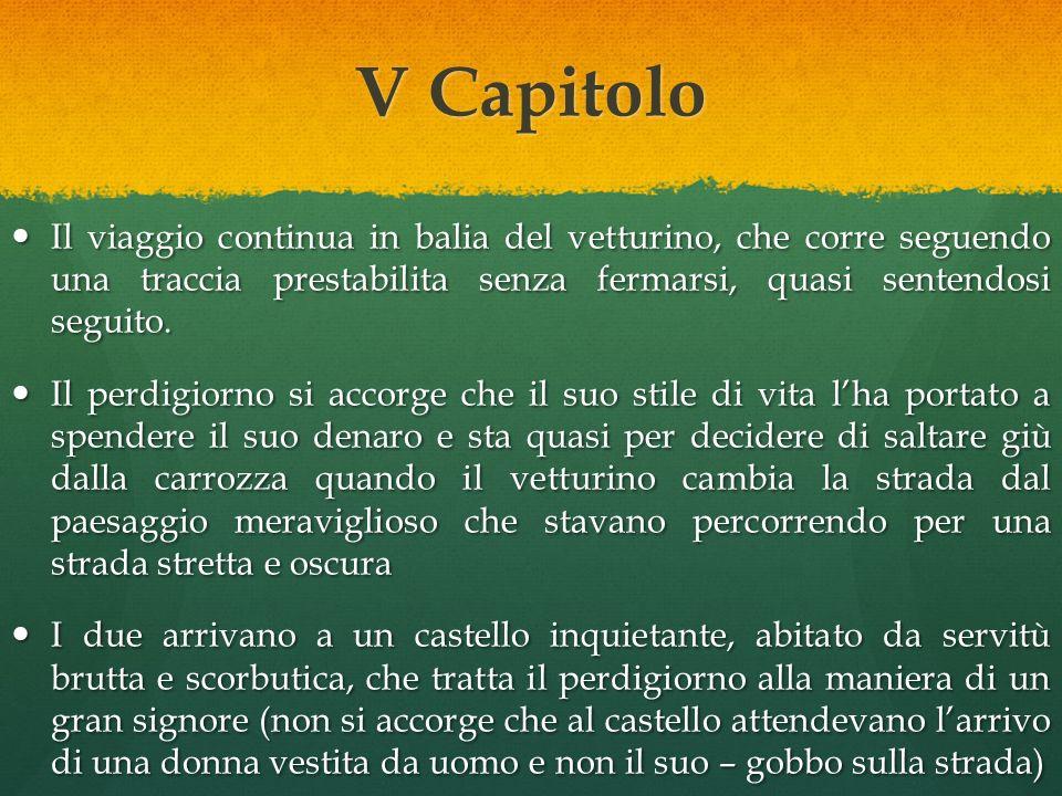 IV Capitolo Arrivati a B.