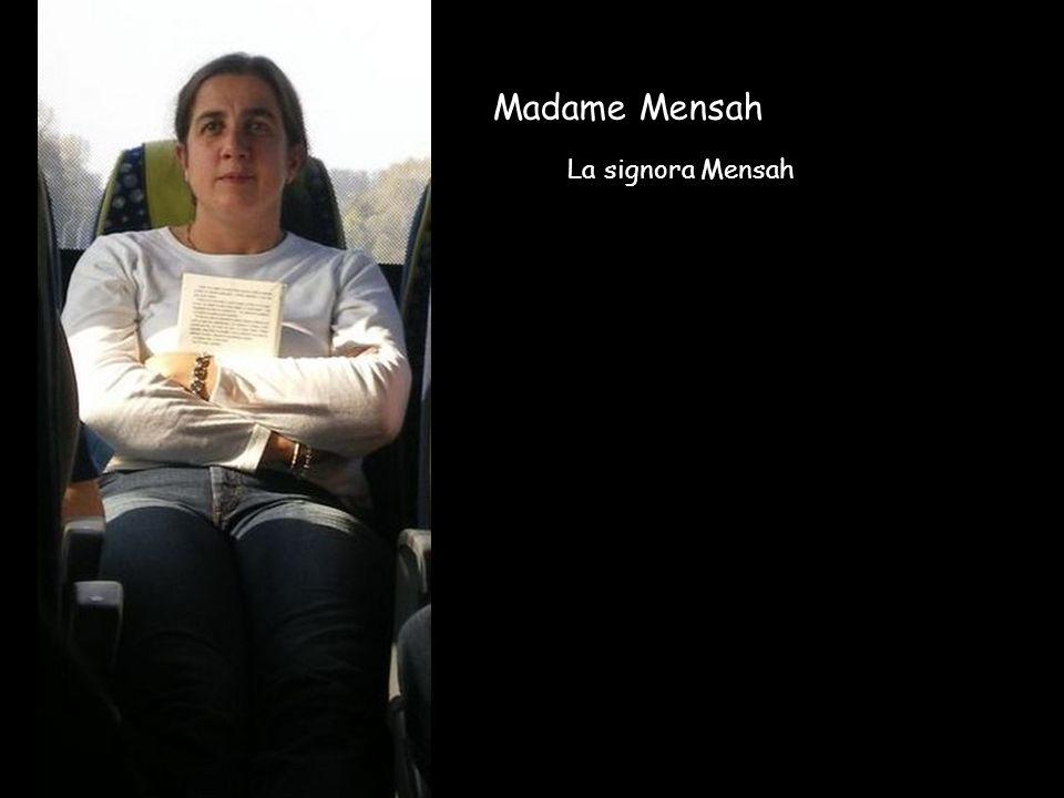 Madame Mensah La signora Mensah
