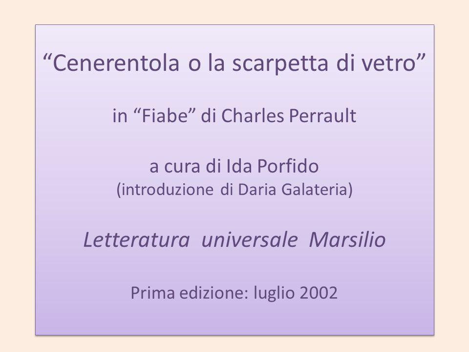 Come abbiamo lavorato -Chi è Ida Porfido -Il progetto delle edizioni Marsilio -Analisi traduttologica della fiaba -Analisi delle morali -Conclusione