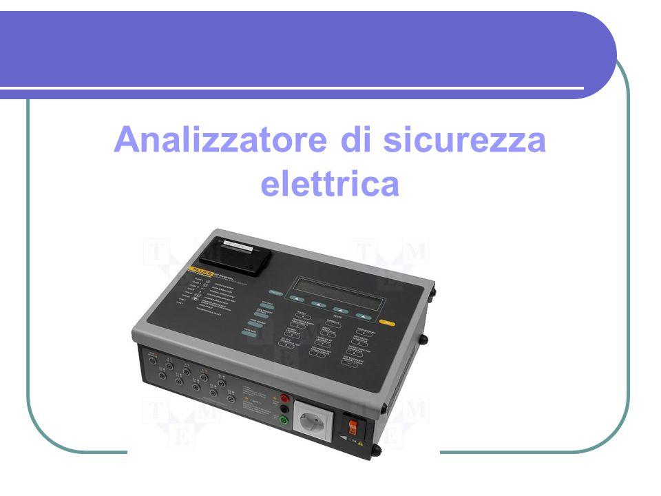 Analizzatore di sicurezza elettrica