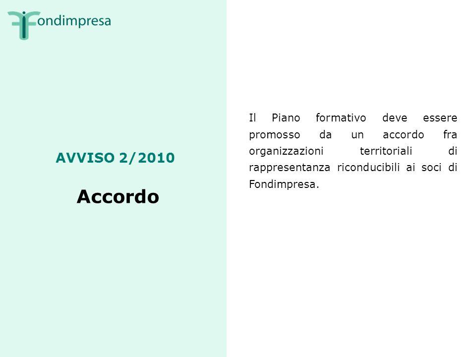 AVVISO 2/2010 Coinvolgimento di soggetti esterni: deleghe Il Soggetto Proponente deve svolgere direttamente le attività del Piano.