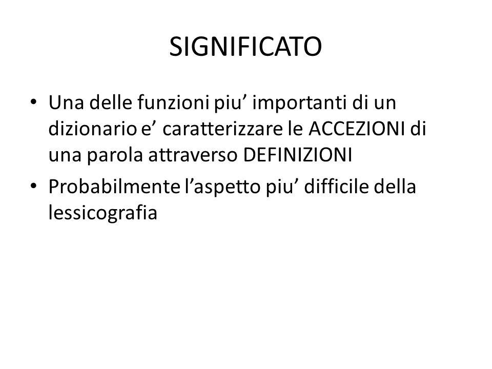 PROBLEMI EMPIRICI PER LAPPROCCIO TASSONOMICO / RETI SEMANTICHE Typicality effects – Is a tomato a vegetable or a fruit.