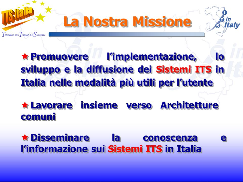 I Nostri Associati Università: il nostro collegamento con il mondo della ricerca (14) Università: il nostro collegamento con il mondo della ricerca (14) Soci Fondatori: le organizzazioni che hanno dato vita allAssociazione (9) Soci Fondatori: le organizzazioni che hanno dato vita allAssociazione (9) Soci Ordinari: enti e aziende che si sono associate a TTS Italia successivamente alla sua costituzione (35) Soci Ordinari: enti e aziende che si sono associate a TTS Italia successivamente alla sua costituzione (35)