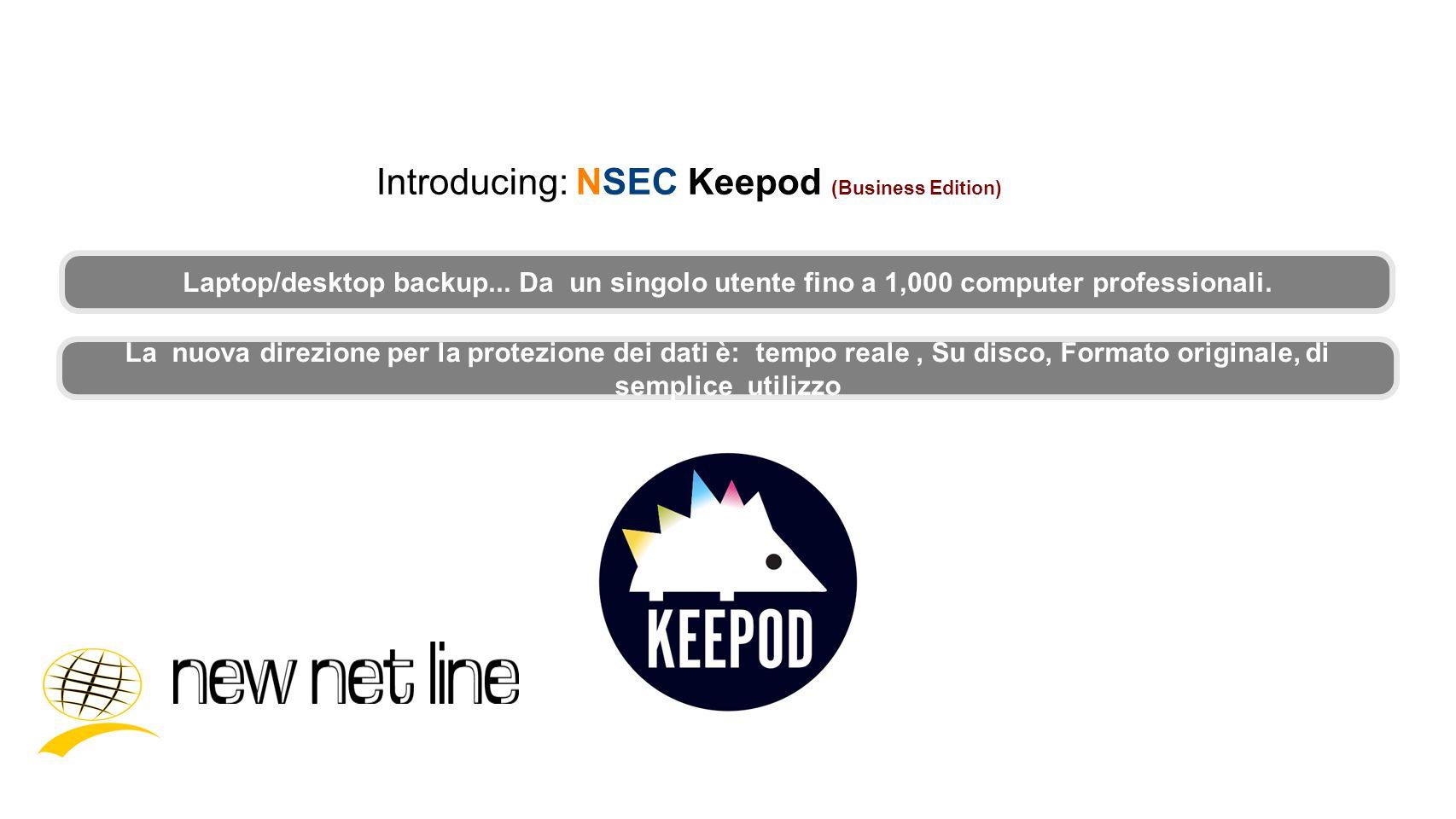 Cosè Keepod.