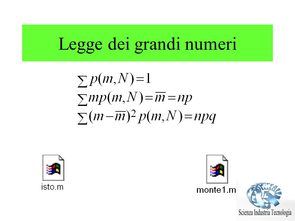 Distribuzioni di probabilità Come verificare che la legge gaussiana è vera .
