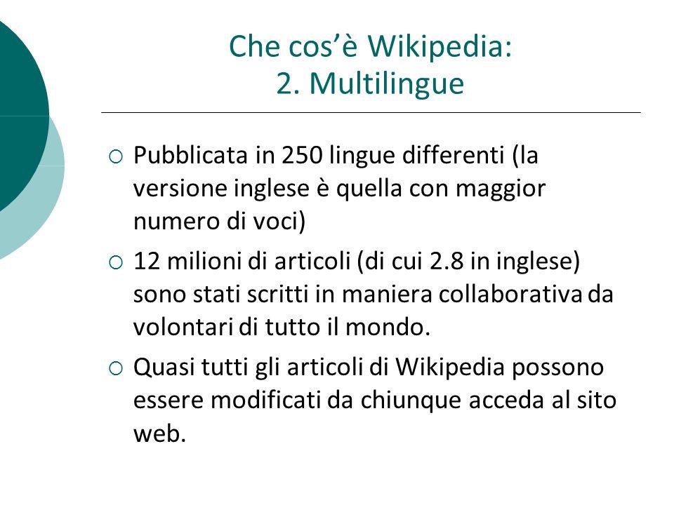 Critiche a Wikipedia Rappresenta proprio ciò che non volevamo che diventasse il web Robert Cailliau (uno degli scienziati che hanno creato il Web al CERN)