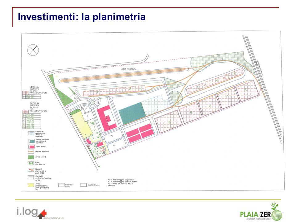 Investimenti: la planimetria