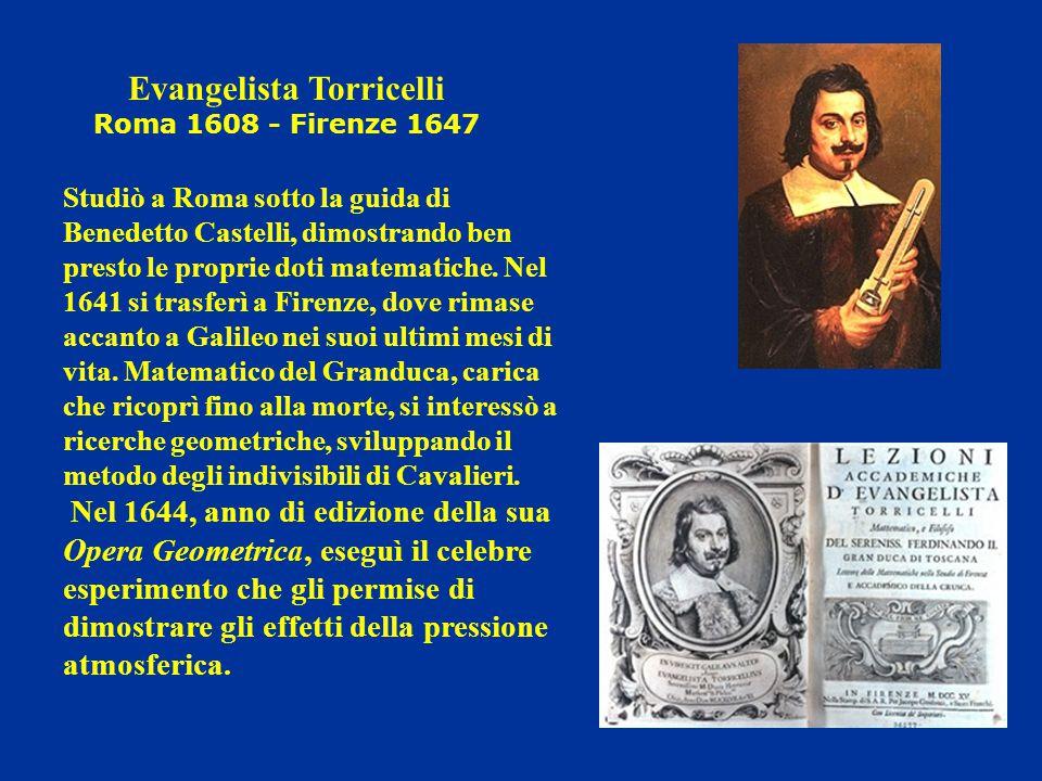 Studiò a Roma sotto la guida di Benedetto Castelli, dimostrando ben presto le proprie doti matematiche. Nel 1641 si trasferì a Firenze, dove rimase ac