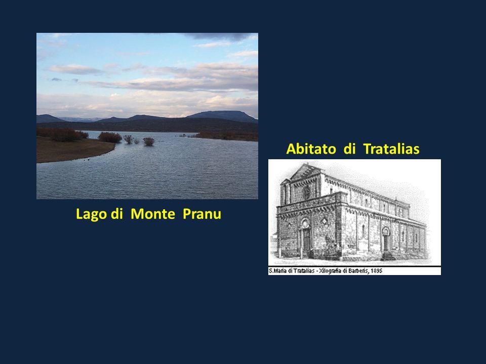 Lago di Monte Pranu Abitato di Tratalias
