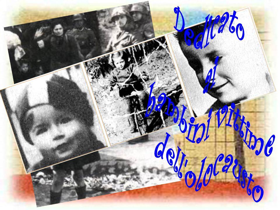 Tanti sono stati i bambini vittime dellolocausto… ad iniziare da ad Anne Frank, simbolo delle atrocità dei campi di concentramento, che nel suo diario quelle atrocità ha raccontato … per finire ai 15.000 bambini, tra i 12 e i 16 anni, rinchiusi nel campo di Terezin… I loro disegni ritrovati e conservati raccontano ancora una volta gli orrori vissuti e fanno da sfondo alla nostre slides