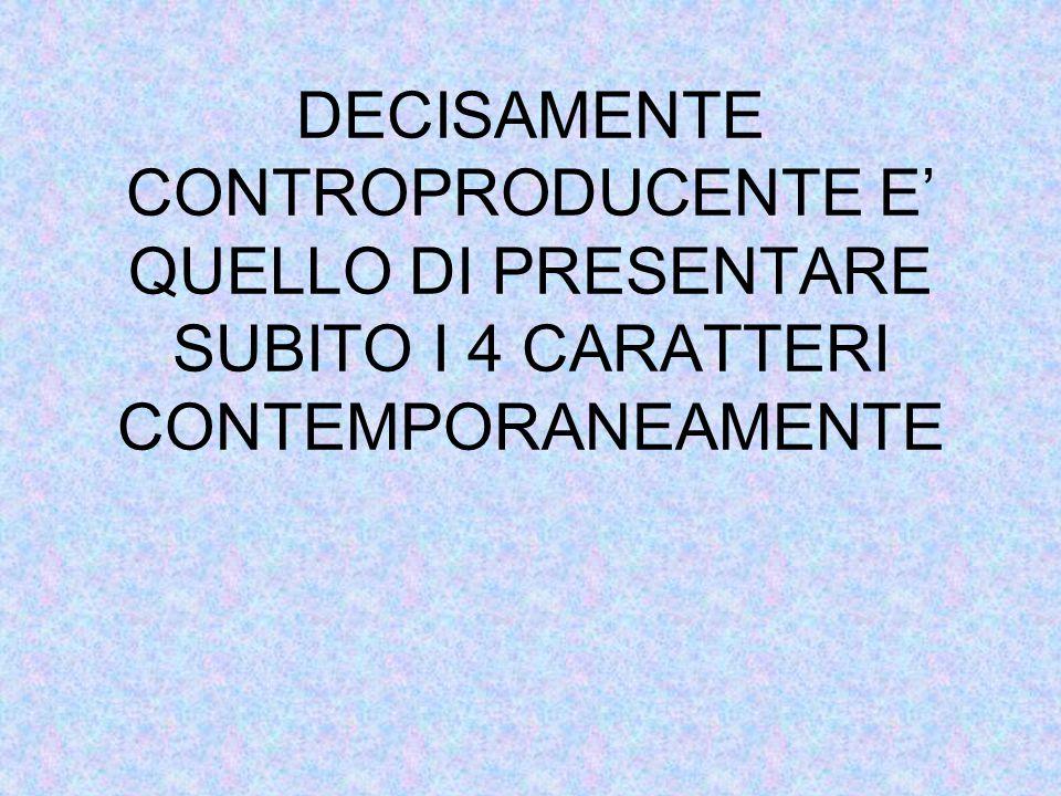 PASSARE DALLO STAMPATO MAIUSCOLO AL CORSIVO O STAMPATO MINUSCOLO RICHIEDE SENZA AVER ATTIRATO LATTENZIONE SUGLI ELEMENTI COSTTUITIVI DELLE LETTERE O SNZA AVER SPERIMENTATO CONCRETAMENTE LE CARATTERISTICHE PUO COMPORTARE, OLTRE ALLA FIFFICOLTA DI DECODIFICA, UNA GRAFIA APPROSIMATIVA