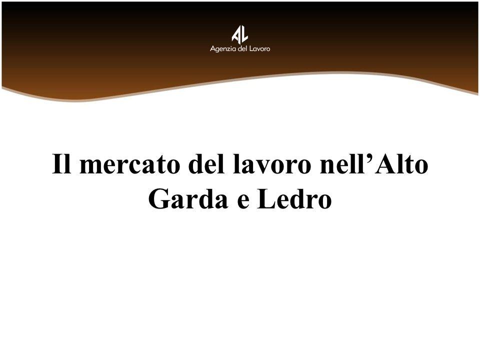 Il mercato del lavoro nellAlto Garda e Ledro