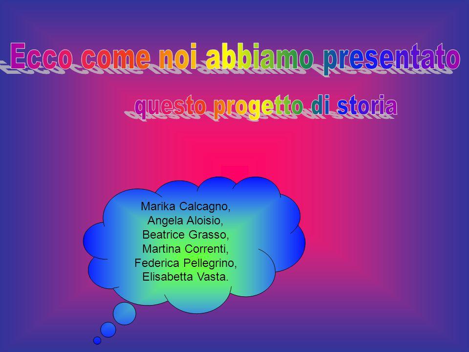 Marika Calcagno, Angela Aloisio, Beatrice Grasso, Martina Correnti, Federica Pellegrino, Elisabetta Vasta.