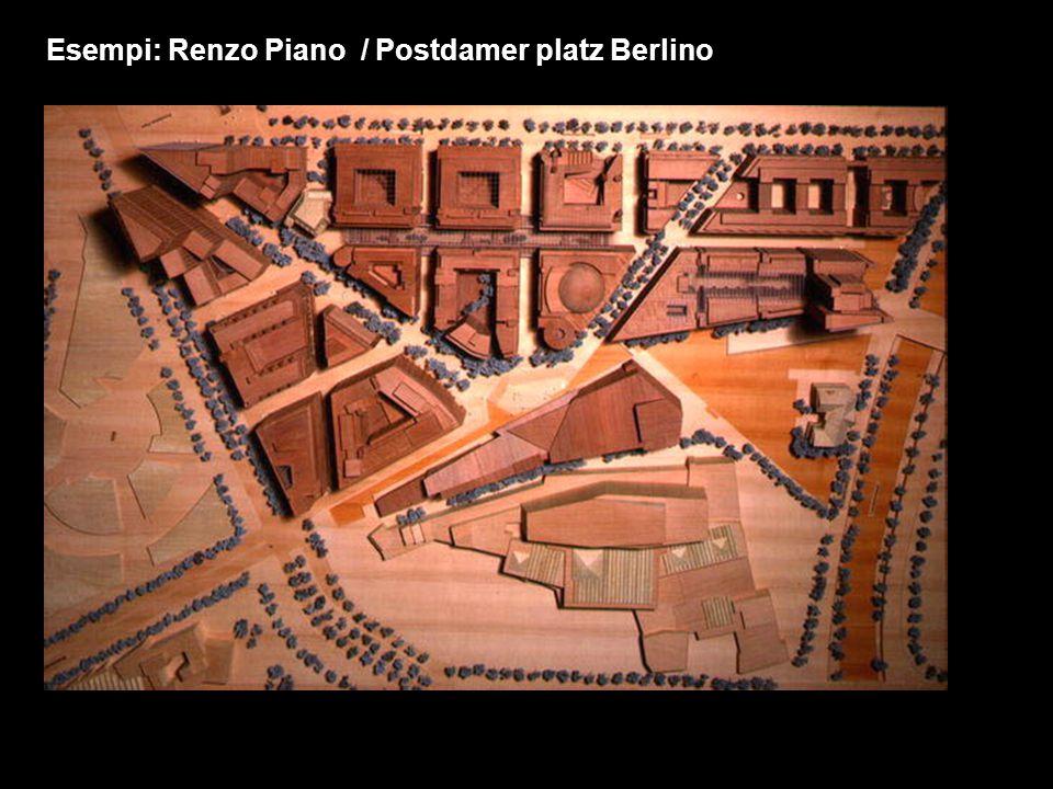 Esempi: Renzo Piano / Postdamer platz Berlino
