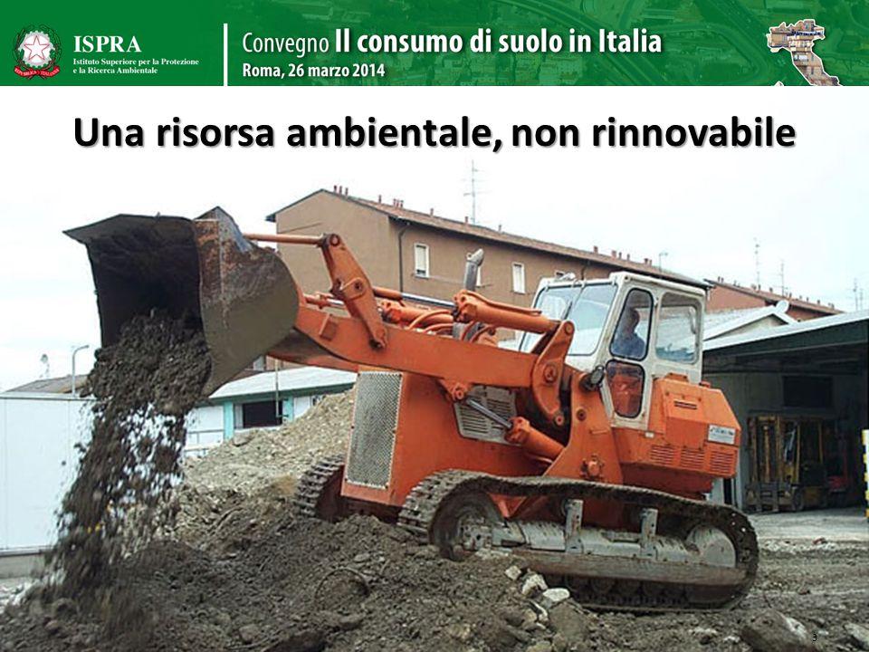 Una risorsa ambientale, non rinnovabile 3