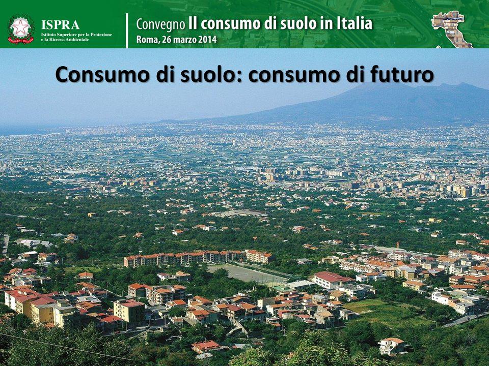 Consumo di suolo: consumo di futuro 4