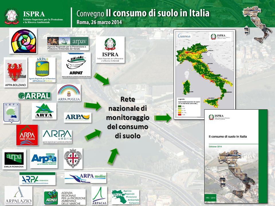 Rete nazionale di monitoraggio del consumo di suolo 7