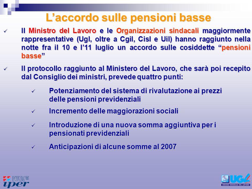 Il protocollo raggiunto al Ministero del Lavoro, che sarà poi recepito dal Consiglio dei ministri, prevede quattro punti: Il protocollo raggiunto al M